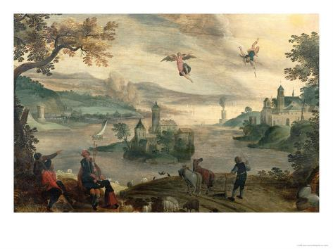 The Fall of Icarus Giclee Print