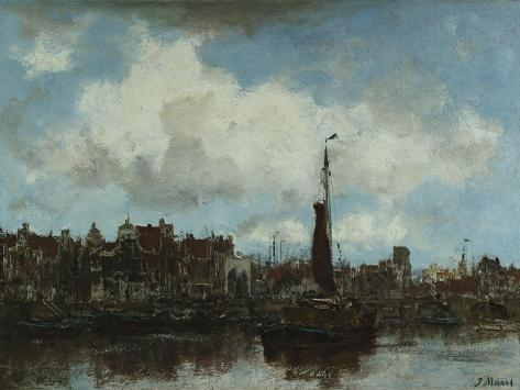 A View of Amsterdam Giclee Print
