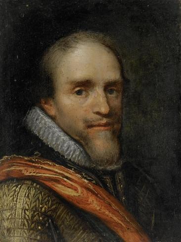 Portrait of Maurice, Prince of Orange Art Print