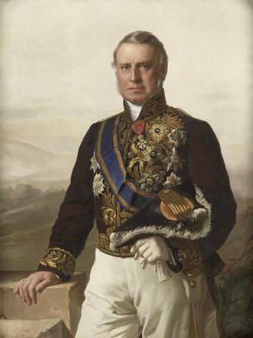 Charles Ferdinand Pahud Gouverneur-Generaal, Jacob Spoel. Art Print