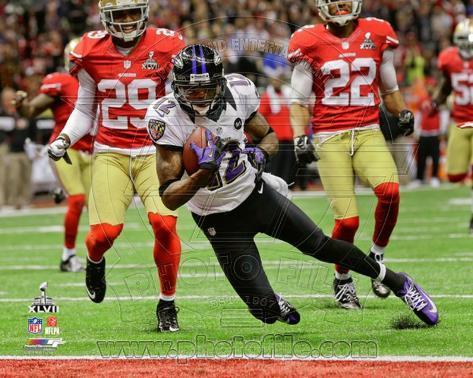 Jacoby Jones Touchdown Super Bowl XLVII Photo