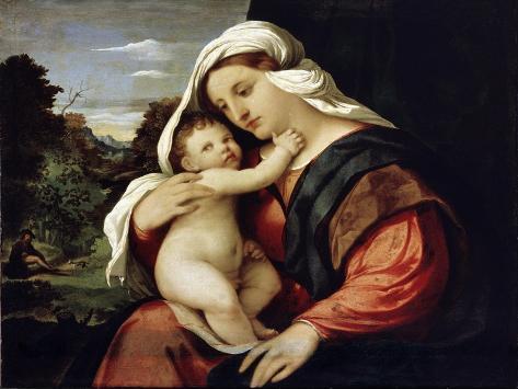Virgin and Child, 1515-1516 Lámina giclée