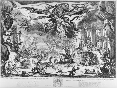 The Temptation of St. Anthony, 1635 Lámina giclée