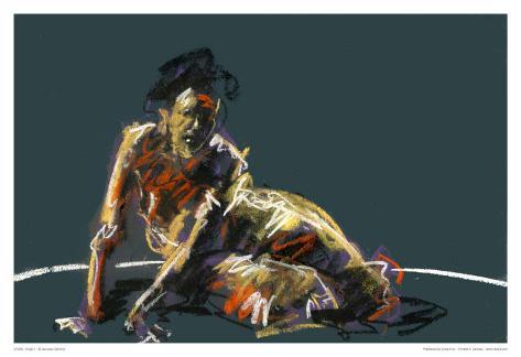 Nude II Konstprint