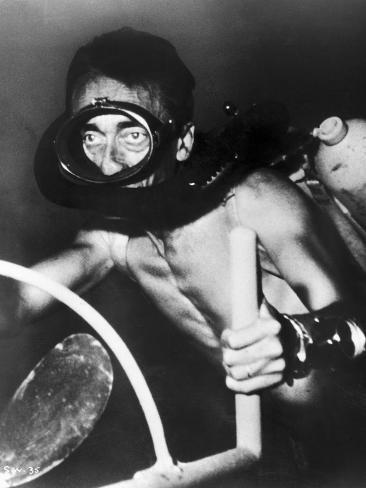 Jacques Cousteau (1910-1997) Photographic Print