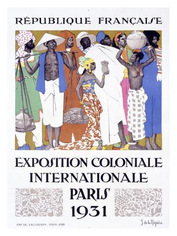 Exposition Coloniale, Paris 1931 Giclee Print