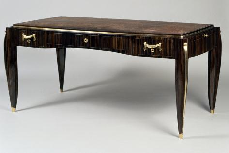 deco style writing desk ambassade 25 model 1933 gicl 233 etryck av jacques emile ruhlmann p 229