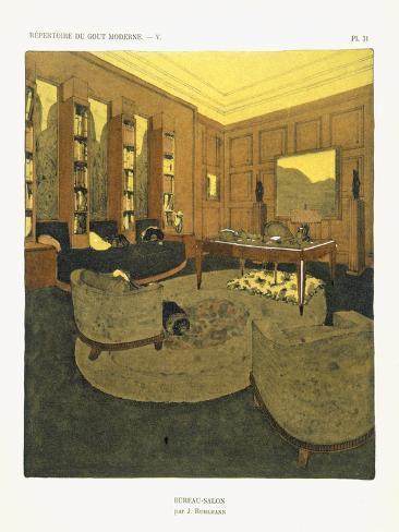 Study, from 'Repertoire of Modern Taste', Published 1929 (Colour Litho) Lámina giclée