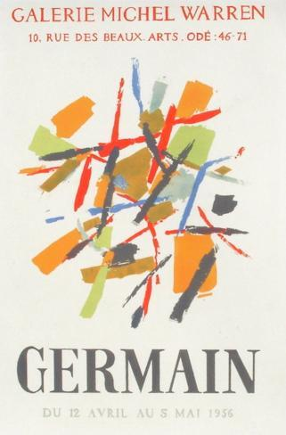 Expo 56 - Galerie Michel Warren Lámina coleccionable