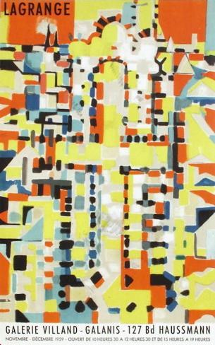 Expo 59 - Galerie Villand Galanis Lámina coleccionable