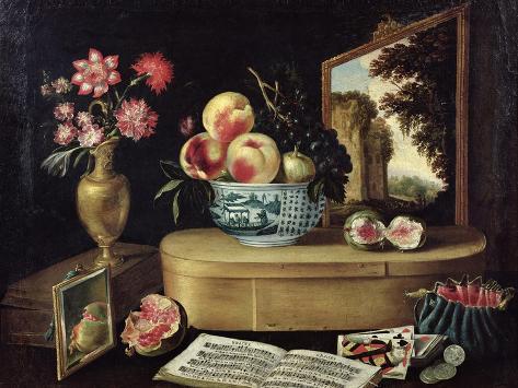 The Five Senses, 1638 Giclee Print