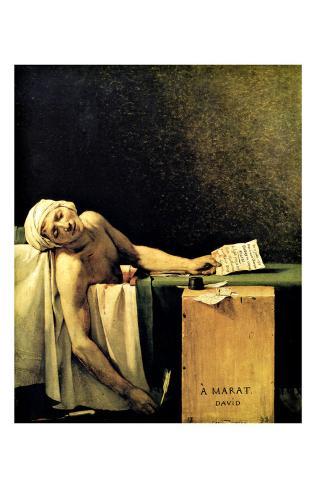 Death of Marat Giclee Print