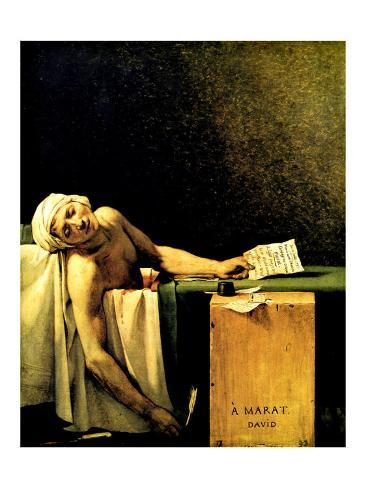 Death of Marat Giclee Print