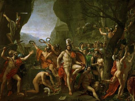 Leonidas at the Thermopylae Giclee Print