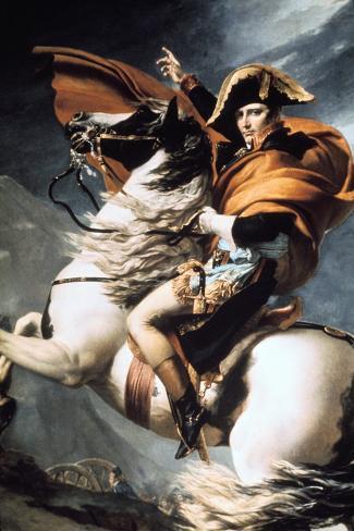 Napoleon Crossing the Alps, Detail, C1800 Giclee Print