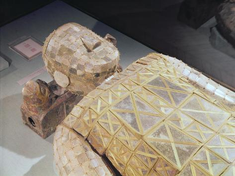 Jade Burial Suit, from the Tomb of Princess Tou Wan, Wife of Liu Sheng Impressão giclée