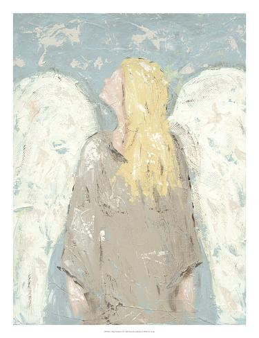 Angel Waiting Art Print