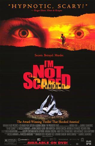 Jag är inte rädd Poster