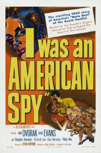 Jag var amerikansk spion|I Was an American Spy Konstprint