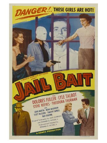 Jail Bait, 1954 Art Print