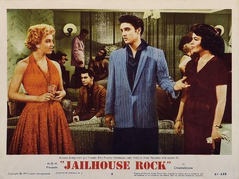 Jailhouse Rock, 1957 Art Print