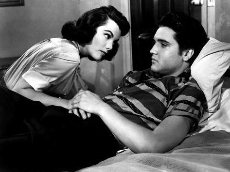 Jailhouse Rock, Judy Tyler, Elvis Presley, 1957 Fotografía