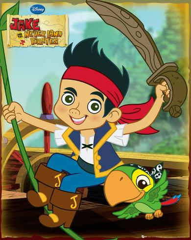 Jake and the Never Land Pirates-Jake Mini Poster
