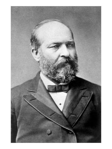 James A. Garfield, U.S. President 1881 Photo