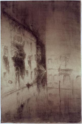 Nocturne: Palaces, 1879-80 Gicléedruk