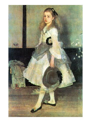 Portrait of Miss Alexander Kunstdruk