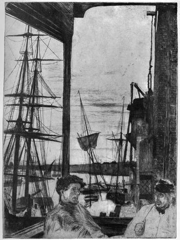 Rotherhithe, 1860 Gicléedruk
