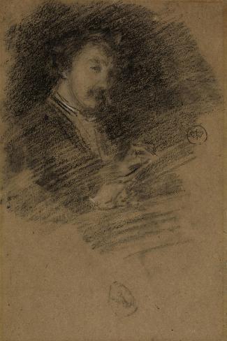 Self Portrait, 1871-73 Gicléedruk