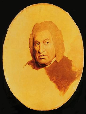 Portrait of Samuel Johnson (1709-84) c.1778-80 Lámina giclée