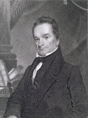 Edward Livingston, Engraved by Edward Wellmore Giclee Print