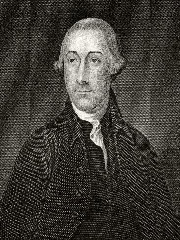 Joseph Hewes, Engraved by Francis Kearney (1785-1837) Giclee Print