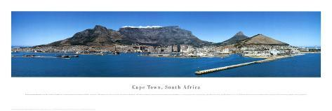 Cape Town, South Africa Art Print