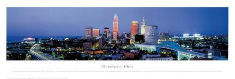Cleveland, Ohio Art Print