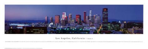 Los Angeles, California Art Print