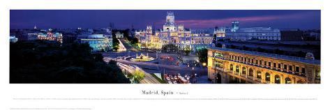 Madrid, Spain Art Print
