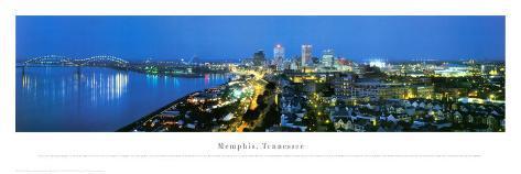 Memphis, Tennessee Art Print