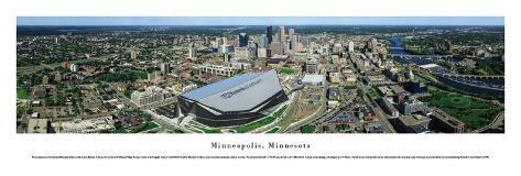 Minneapolis, MN #8 (US Bank Stadium) Art Print