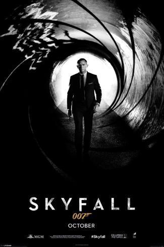 James Bond 007-Skyfall Teaser Poster