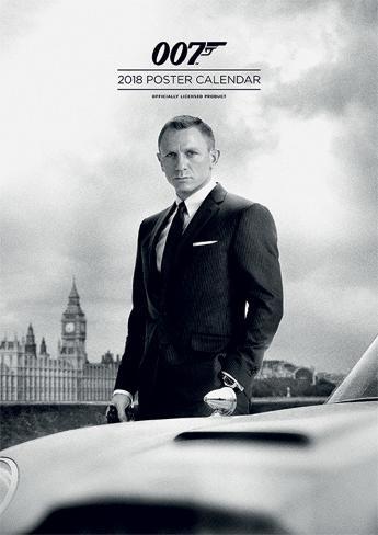 James Bond 2018 Calendar Calendars Allposters Co Uk