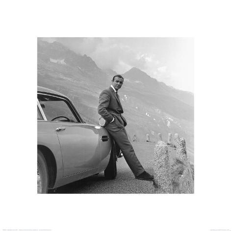 James Bond, Aston Martin Lámina