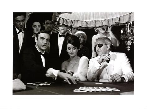 James bond at the casino thunderball
