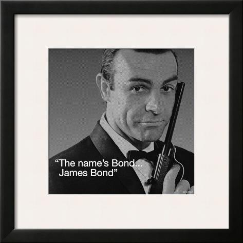 James Bond: Bond Framed Art Print