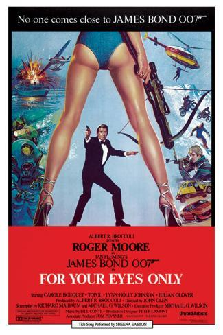 James Bond-For Your Eyes Only Poster