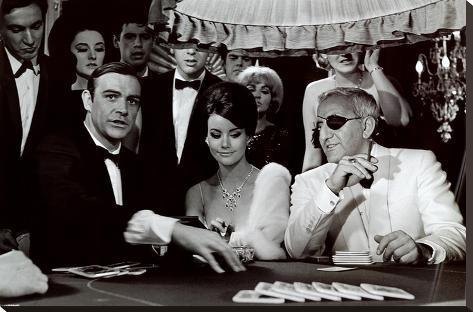 James Bond - Lady Luck Impressão em tela esticada