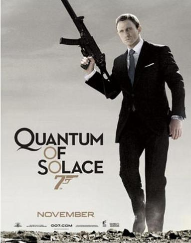 James Bond, Quantum of Solace, Movie Poster Print Minipôster