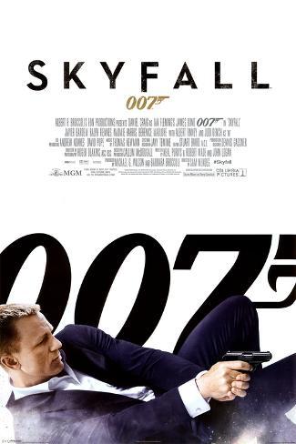 James Bond Skyfall - One Sheet Poster